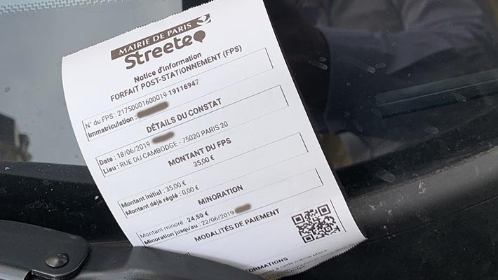 notice information FPS Paris 2019