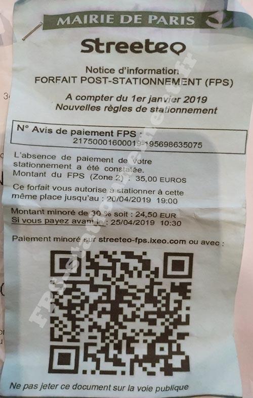 faux FPS distribué à Paris
