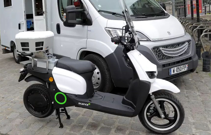 scooter stationnement payant Moovia